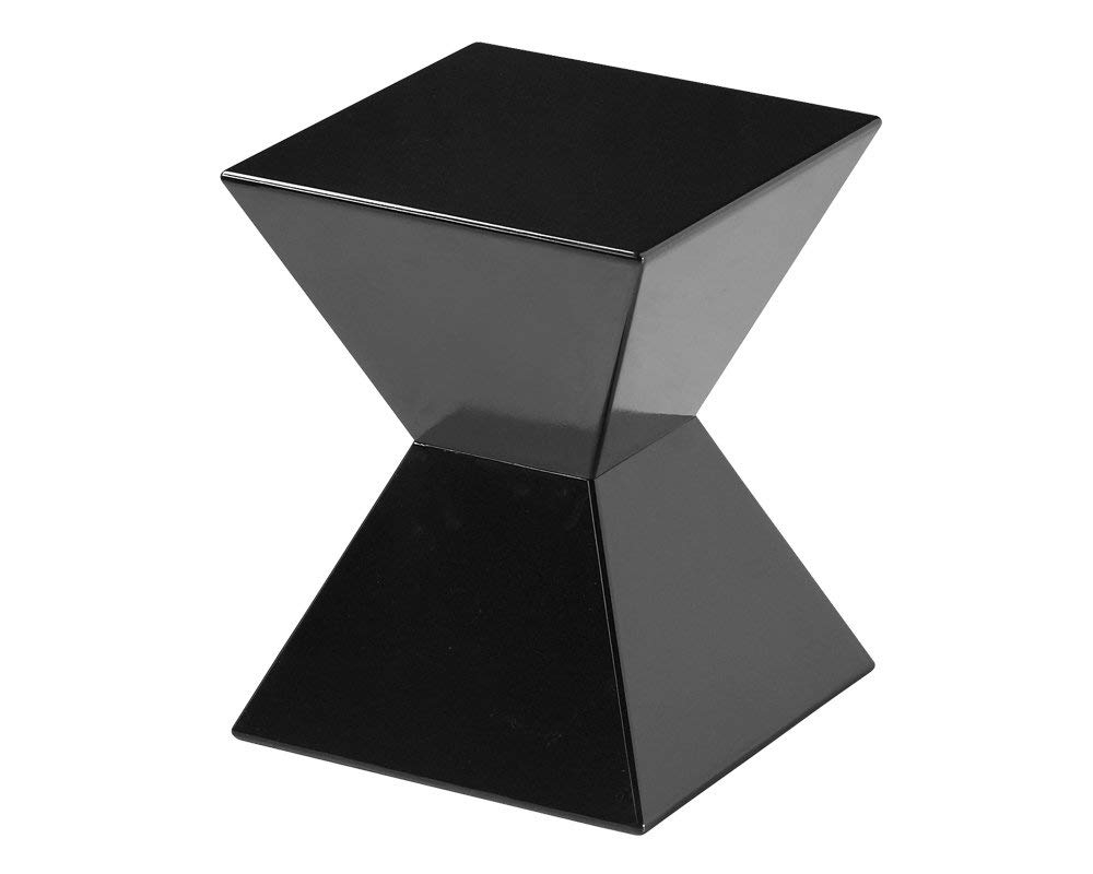 Amazon: Sunpan Modern Rocco End Table, Black: Kitchen & Dining In Well Known Rocco Side Chairs (View 2 of 20)
