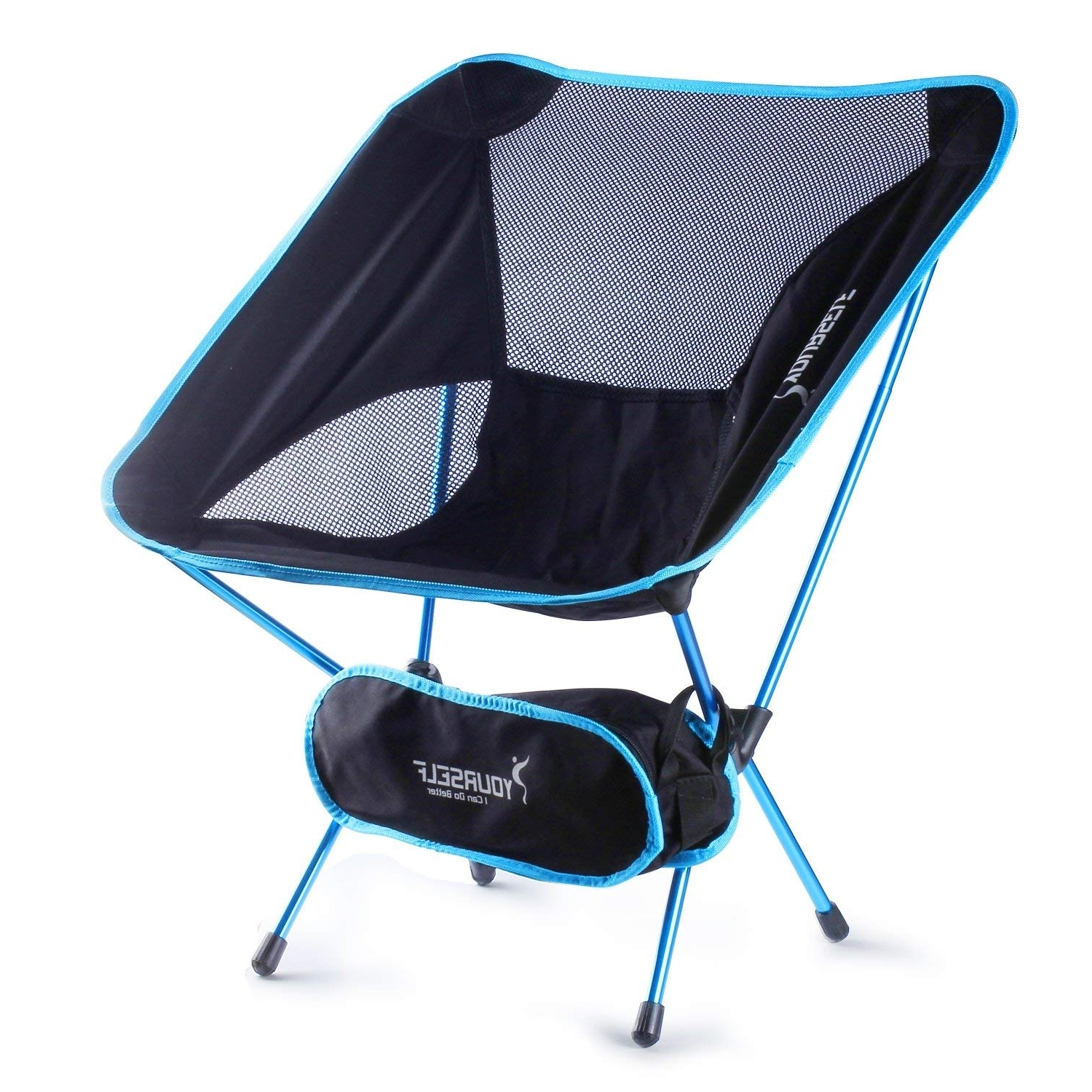 Amazon : Syourself Portable Folding Camping Chair Lightweight Pertaining To Recent Alexa Firecracker Side Chairs (View 9 of 20)