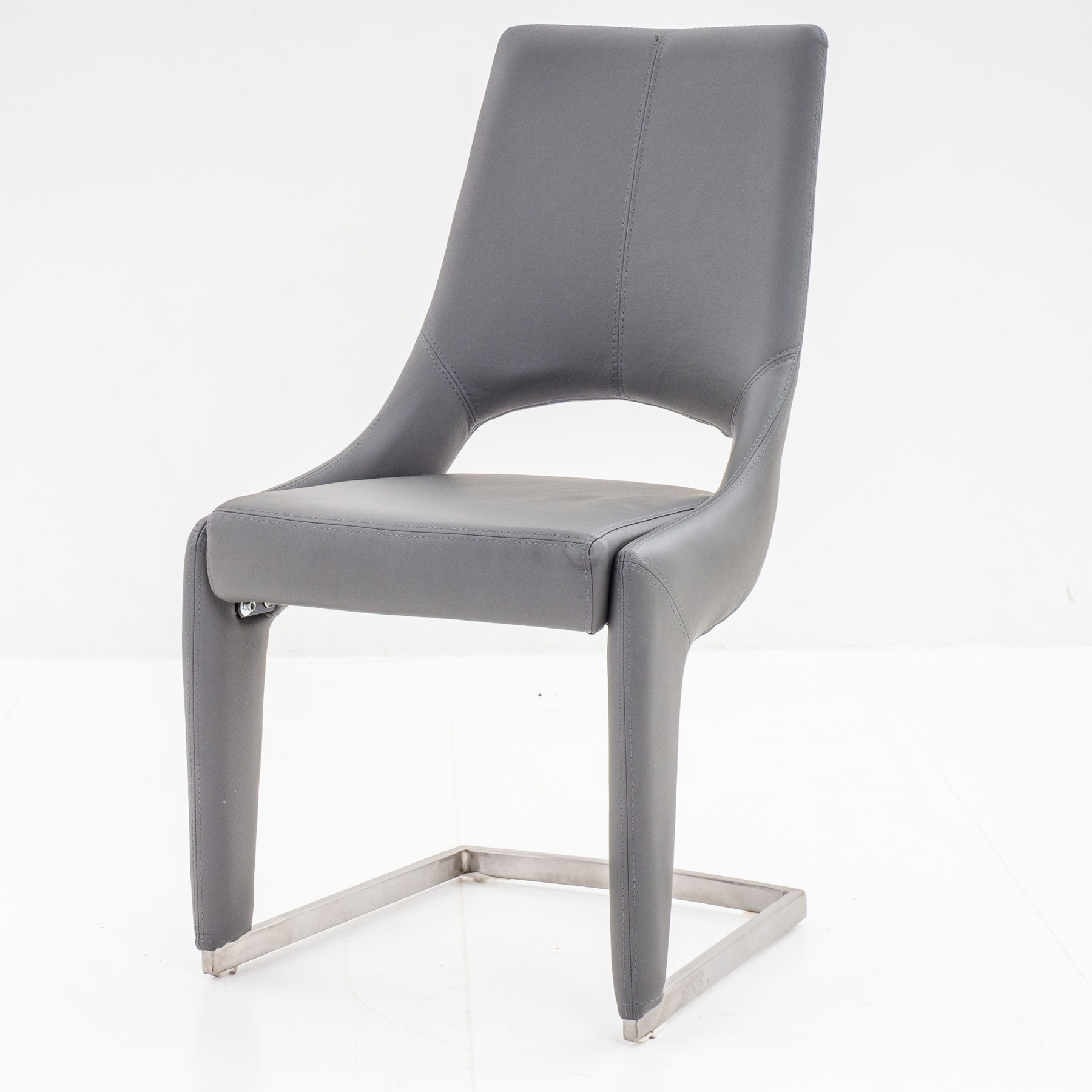 Ardea Grey Dining Chair In Newest Grey Dining Chairs (View 2 of 20)
