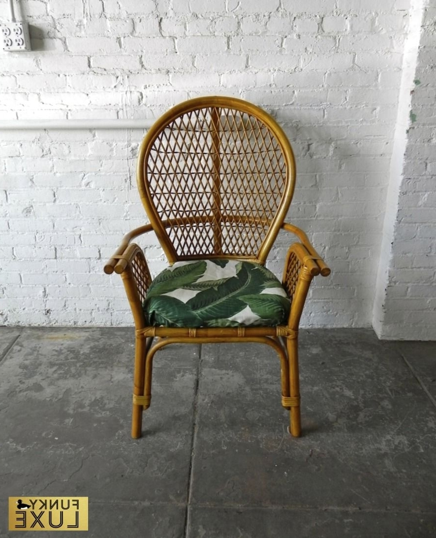 Featured Photo of Banana Leaf Chairs With Cushion