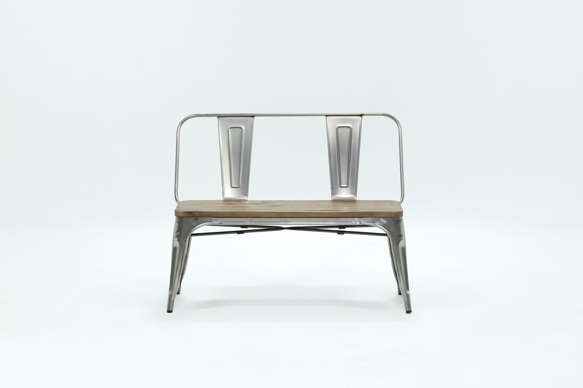 Best And Newest Burton Metal Bench With Wooden Seat (View 3 of 20)