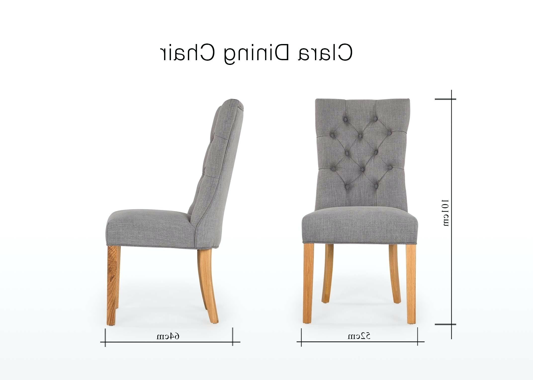 Best And Newest Hayden Cognac Side Chairs Intended For Chair : Grey Dining Chairs Best Of 13 Unique Grey Fabric Dining Room (View 11 of 20)