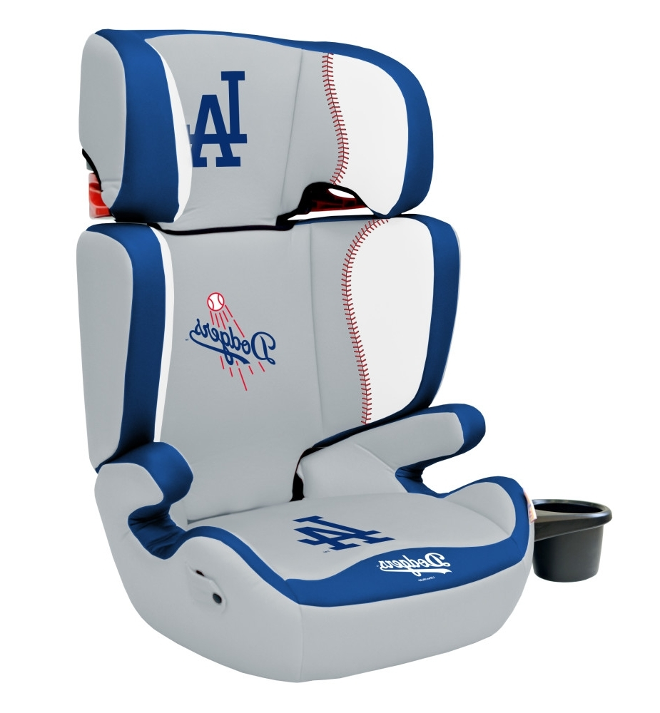 Best And Newest Los Angeles Dodgers 2 In 1 High Back Booster Seat – Lil Fan With Dodger Side Chairs (View 2 of 20)
