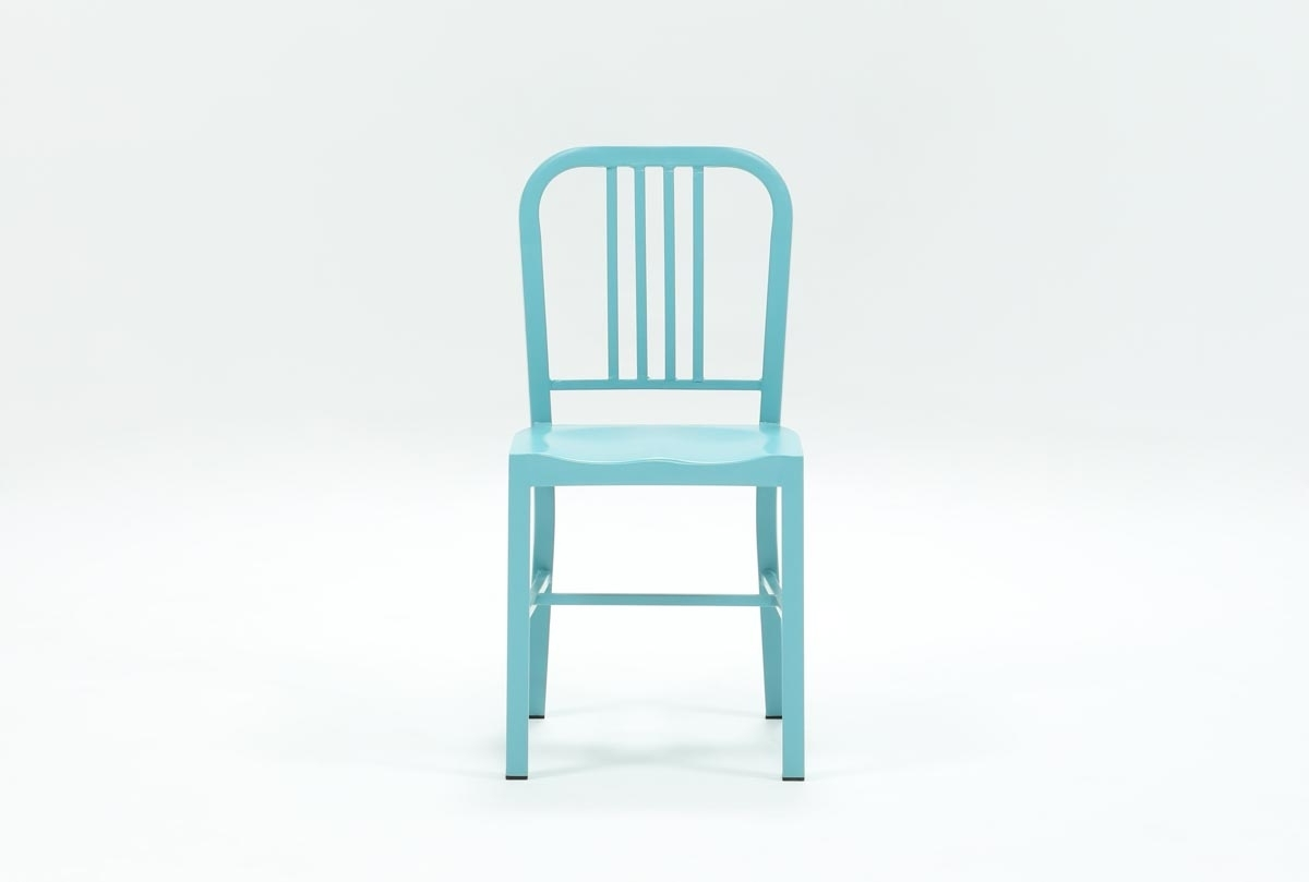 Featured Photo of Nautical Blue Side Chairs