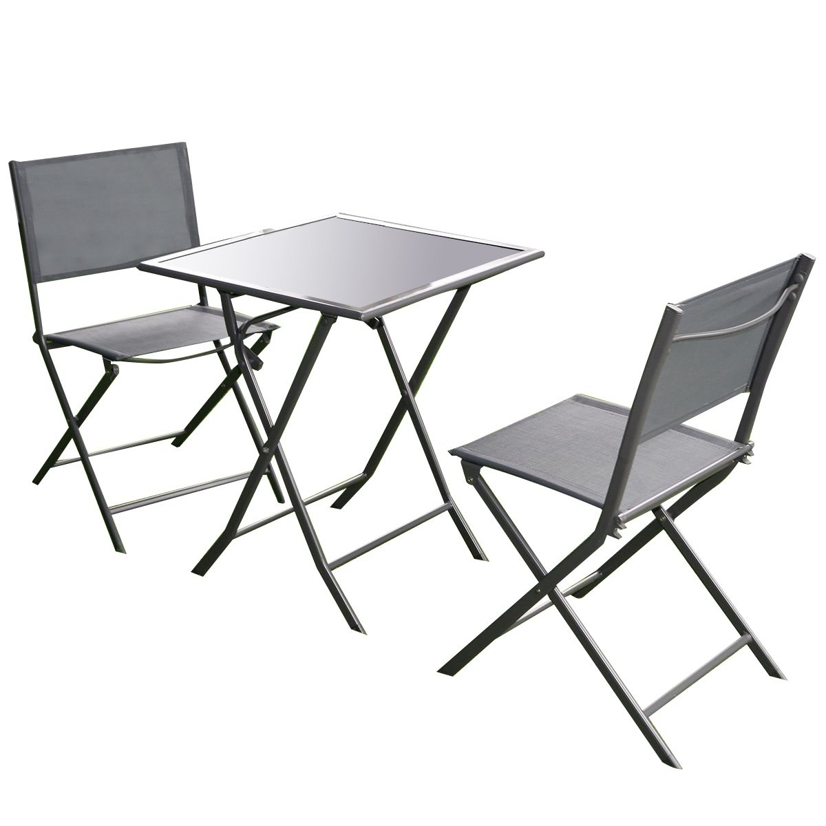 Best Rated In Patio Furniture Sets & Helpful Customer Reviews Intended For Most Up To Date Garten Storm Chairs With Espresso Finish Set Of (View 9 of 20)