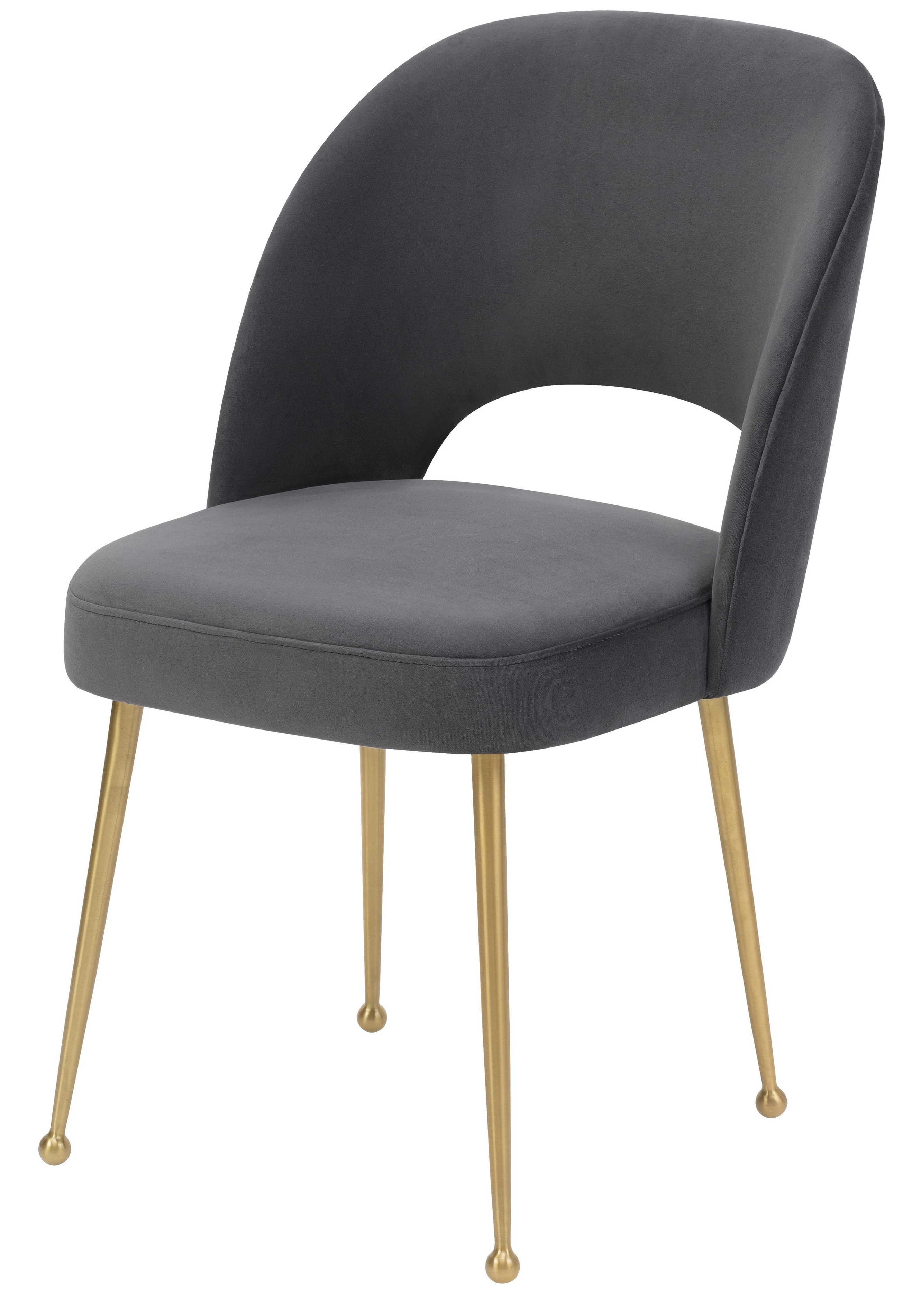 Betty Dining Chair, Charcoal Within Well Known Charcoal Dining Chairs (View 2 of 20)