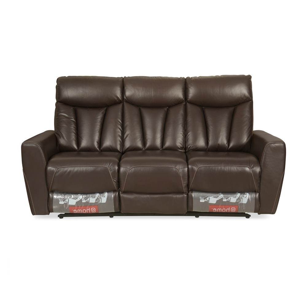 Buy Ranger 3 Seater Sofa With 2 Manual Recliner, Dark Expresso Pertaining To Fashionable Ranger Side Chairs (View 5 of 20)
