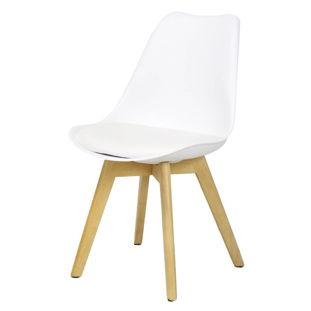 Caden Plastic Dining Chair White – Shipped Within 24 Hours! – Furnwise Inside Most Popular Caden Side Chairs (View 6 of 20)