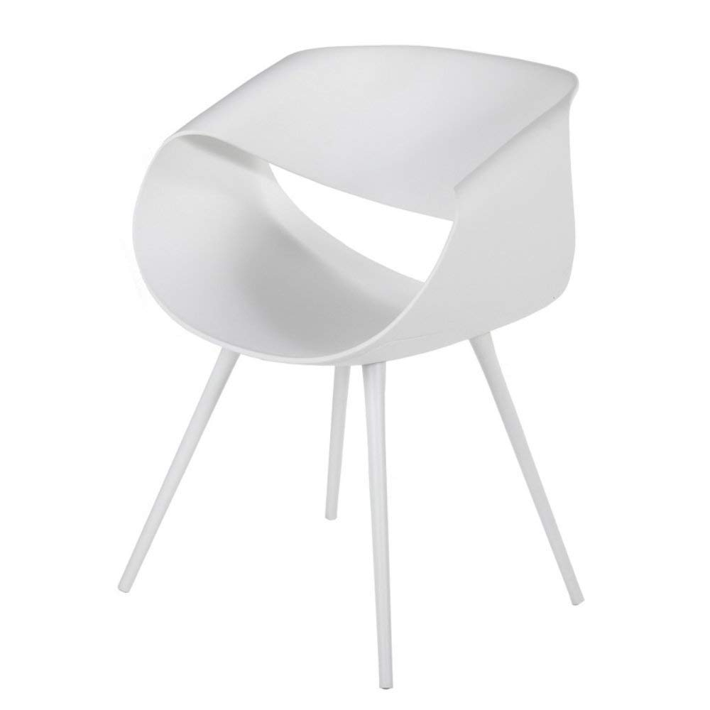 Caden Side Chairs Intended For Current Amazon – Stilnovo Fd228wht Caden Arm Chair In White, – Chairs (View 16 of 20)