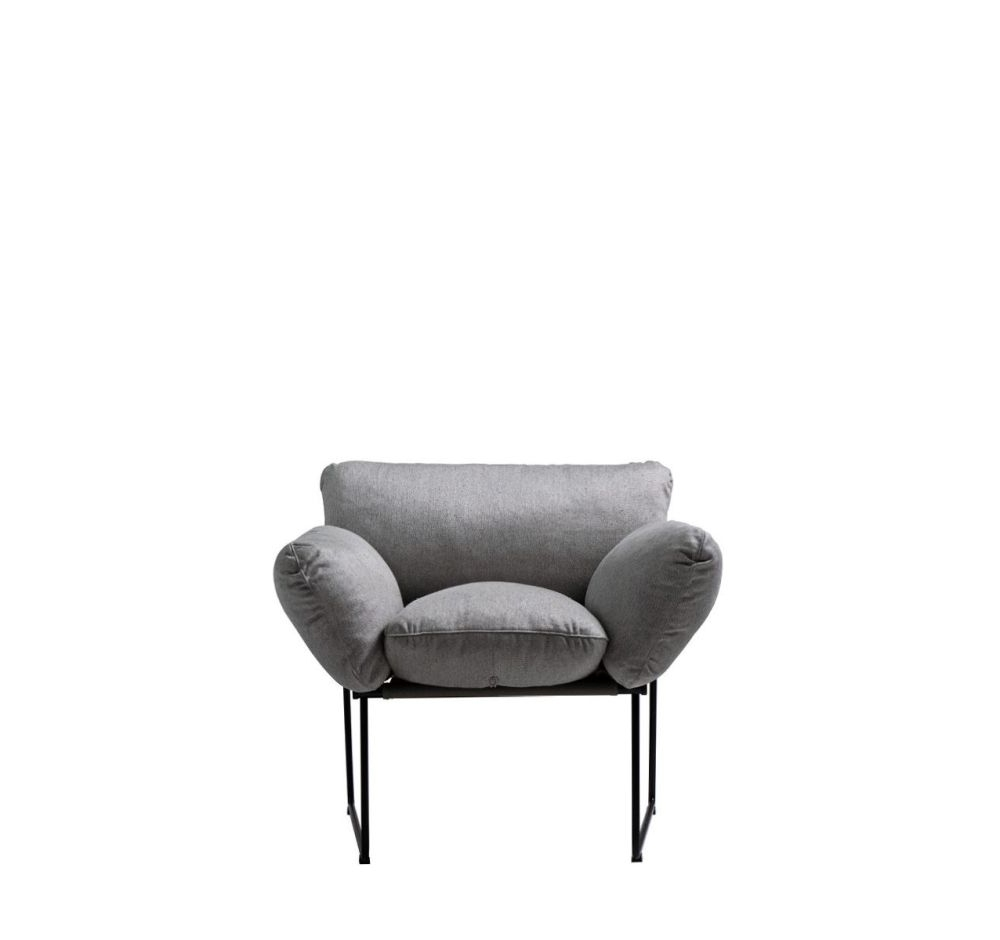 Caira Black Upholstered Arm Chairs Intended For 2017 Elisa Armchair Cairo – Bianco 01Enzo Mari For Driade Clippings (View 3 of 20)