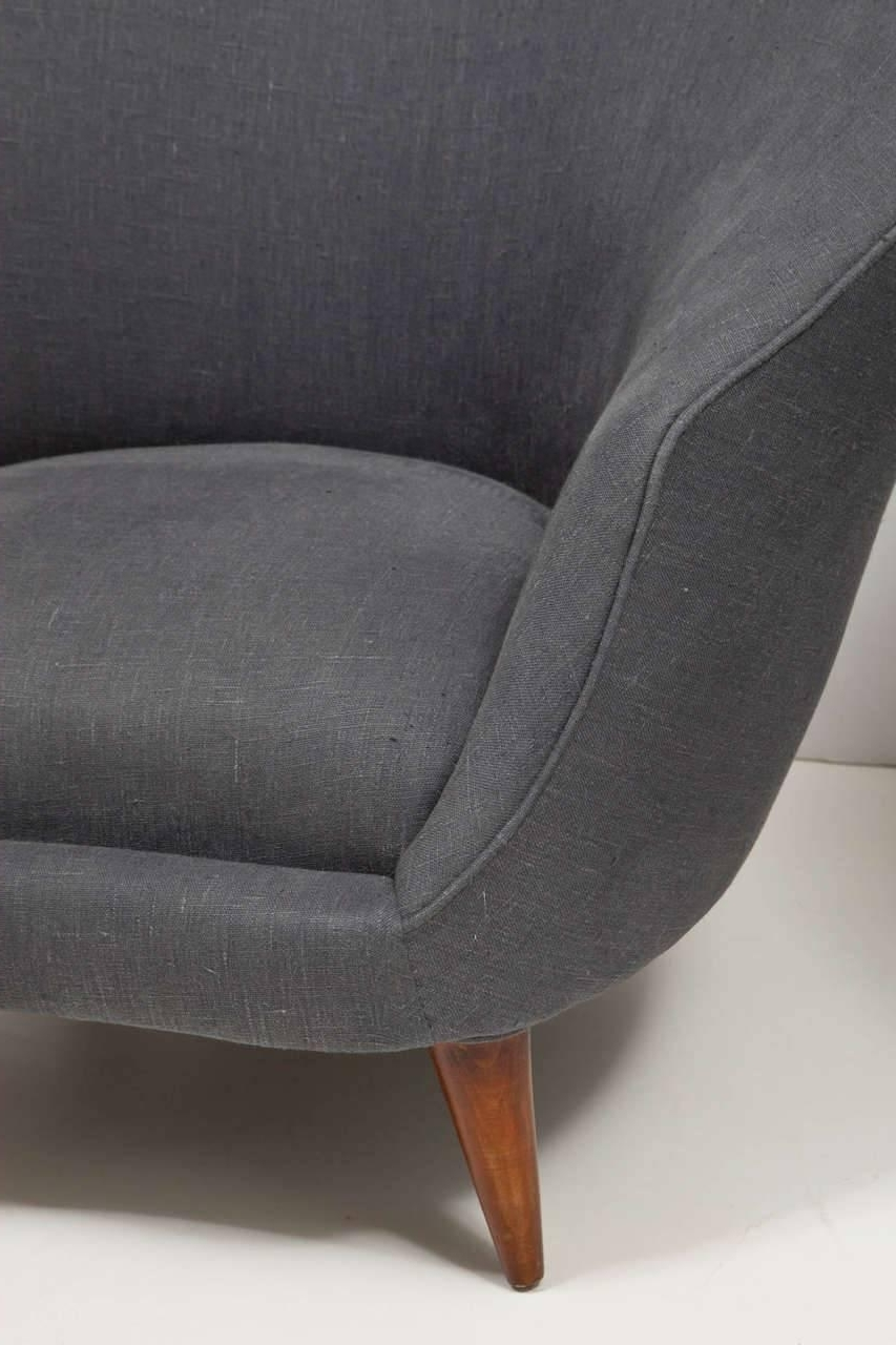 Caira Upholstered Arm Chairs With Regard To 2018 Pair Of Upholstered Armchairsfederico Munari – Caira Mandaglio (View 8 of 20)