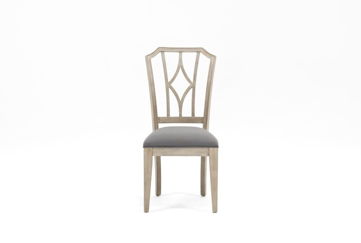 Featured Photo of Caira Upholstered Diamond Back Side Chairs