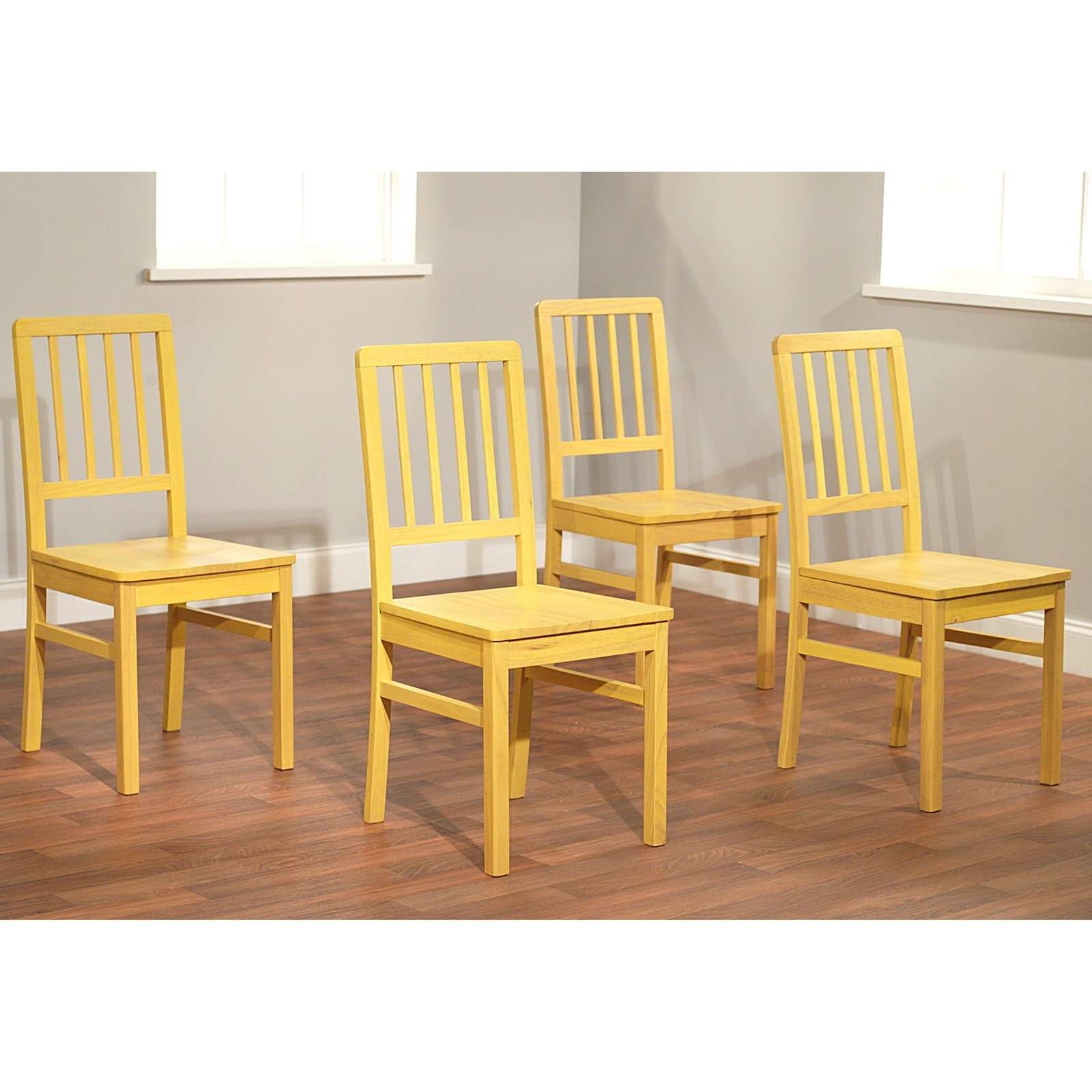 Camden Dining Chairs With Famous Camden Dining Chair Set Of 4, Multiple Colors – Walmart (View 3 of 20)