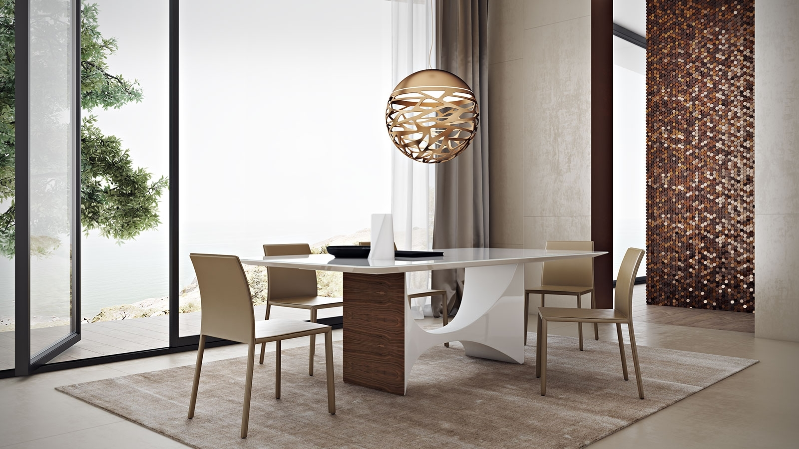 Camden Dining Chairs With Regard To Newest Camden Dining Table – Kaza Modern Furniture (View 6 of 20)