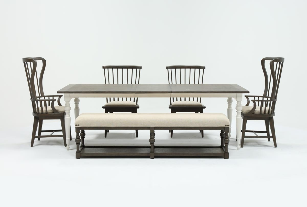 Candice Ii 6 Piece Extension Rectangle Dining Set (View 2 of 20)