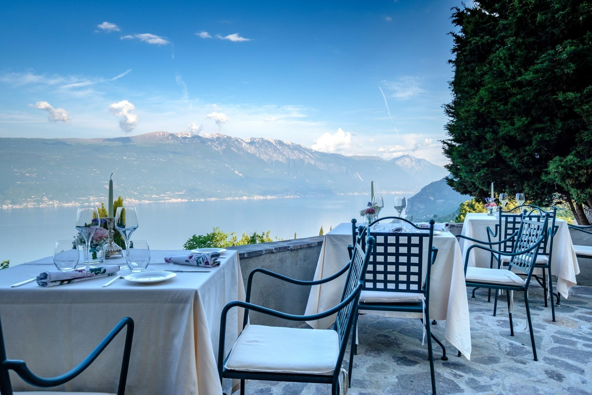 Celler Teal Side Chairs Pertaining To Favorite Boutique Hotel Villa Sostaga On Lake Garda Italy (View 5 of 20)