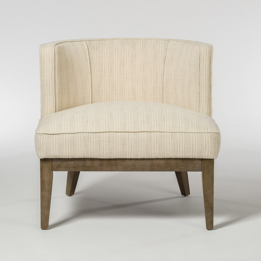 Chandler Fabric Side Chairs With Regard To Latest Chandler Occasional Chair – Alder & Tweed Furniture (View 6 of 20)
