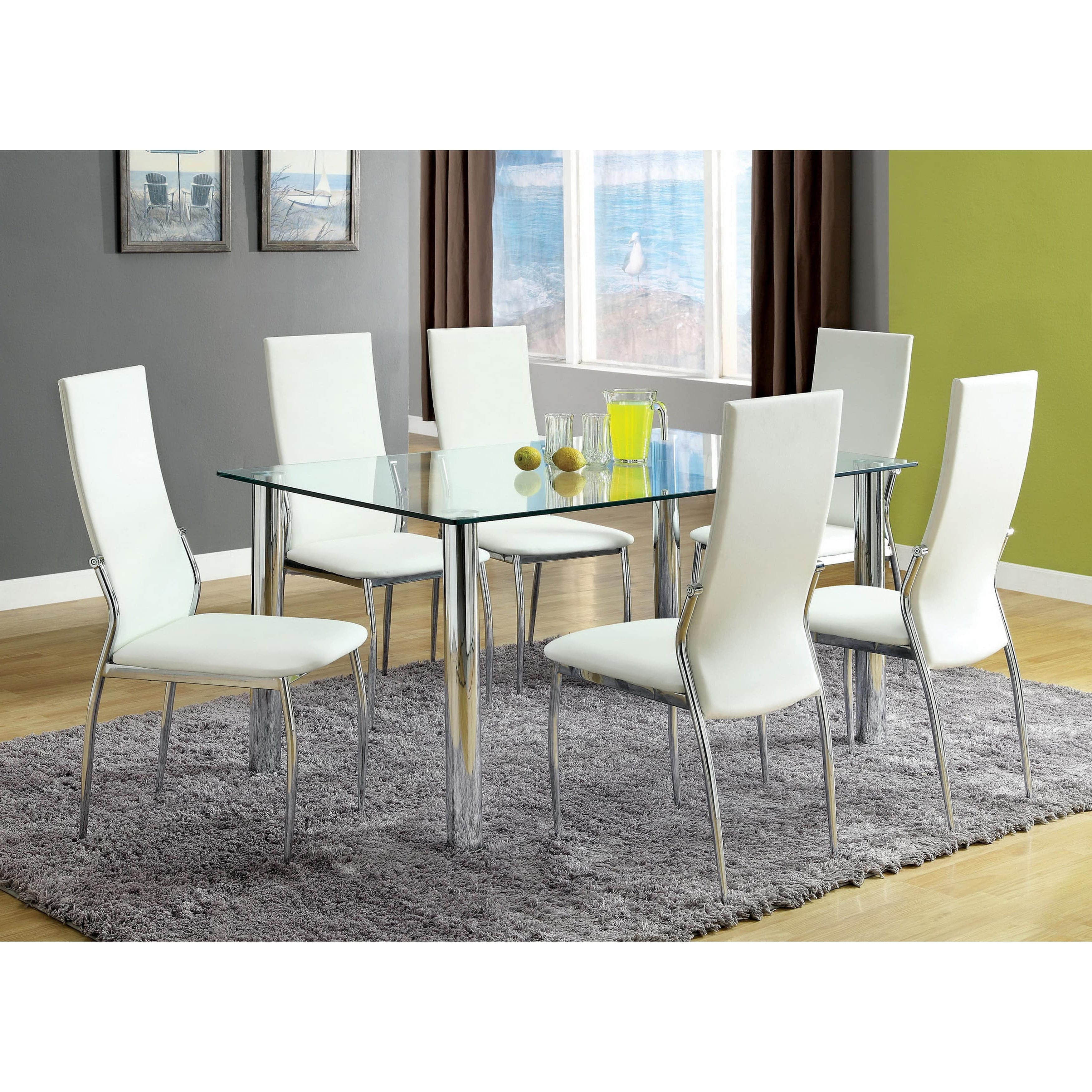 Chandler Fabric Side Chairs Within Most Current Hokku Designs Chandler Side Chair (Set Of 2) – Walmart (View 9 of 20)