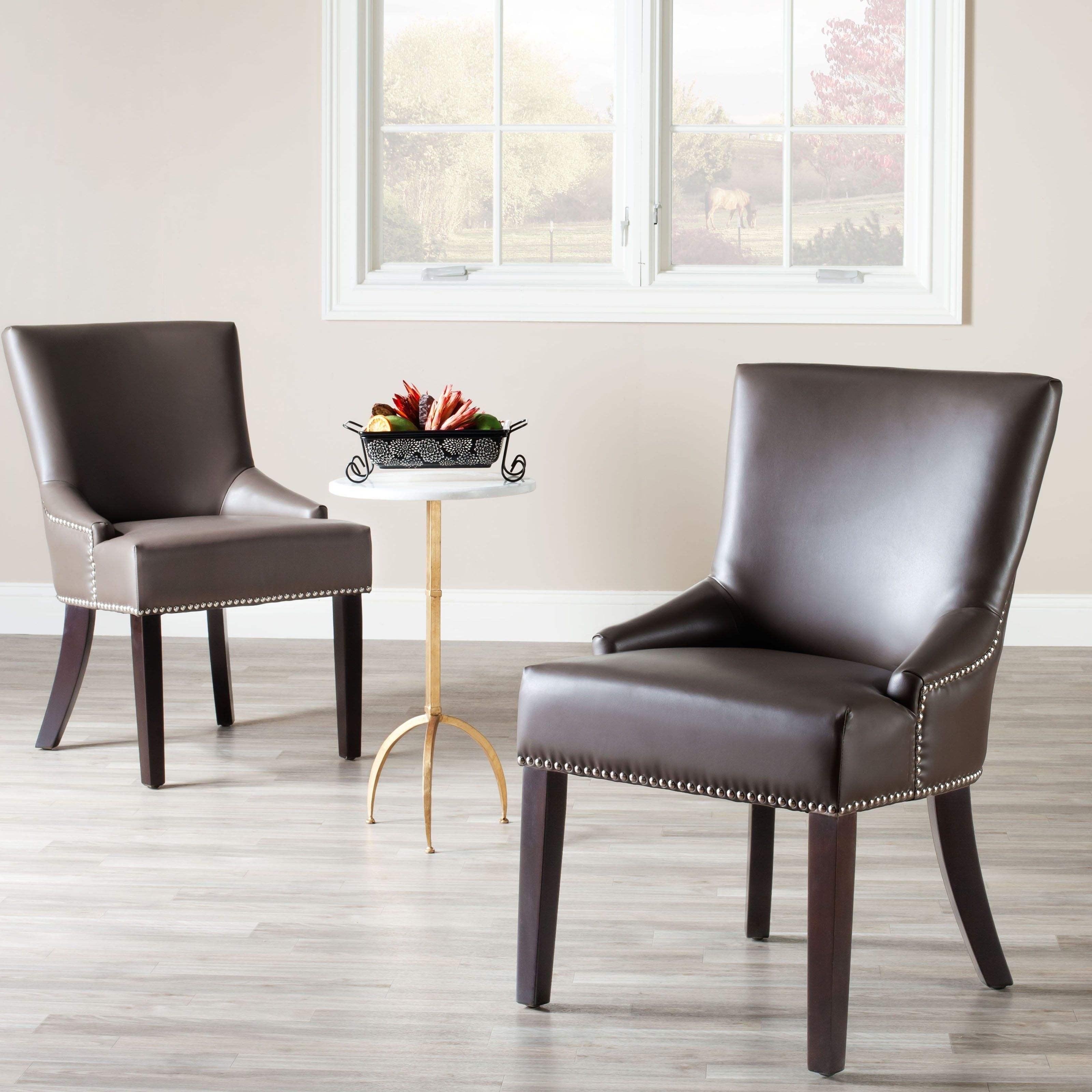 Clay Side Chairs Inside Well Known Safavieh Gavin Clay Dining Side Chairs – Set Of 2 – Mcr4700G Set (View 2 of 20)