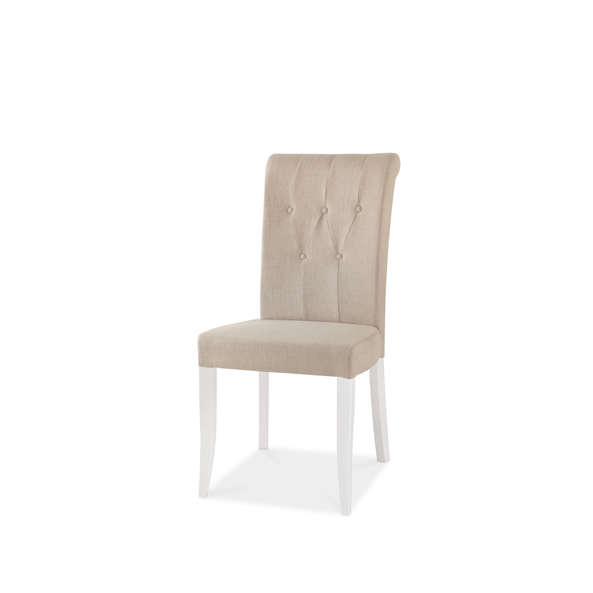 Cookes Collection Camden Two Tone Upholstered Dining Chair In Fabric Pertaining To Well Known Camden Dining Chairs (View 10 of 20)
