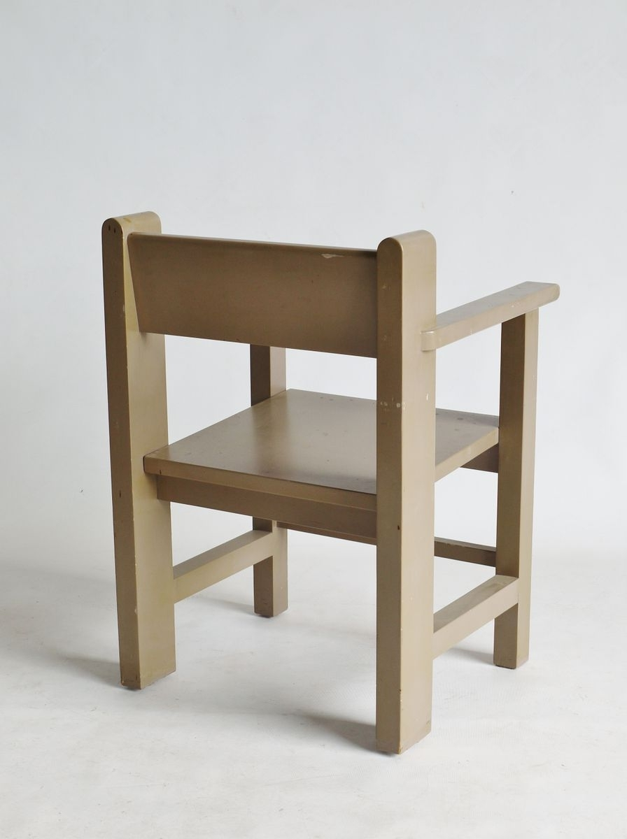 Current Modernist Bossche School Chairgerard Wijnen For Sale At Pamono For Dom Side Chairs (View 16 of 20)