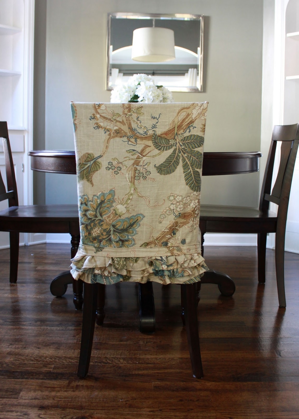Current Slipcovers For Dining Room Chairs That Embellish Your Usual Dining With Regard To Dining Chairs With Blue Loose Seat (View 3 of 20)