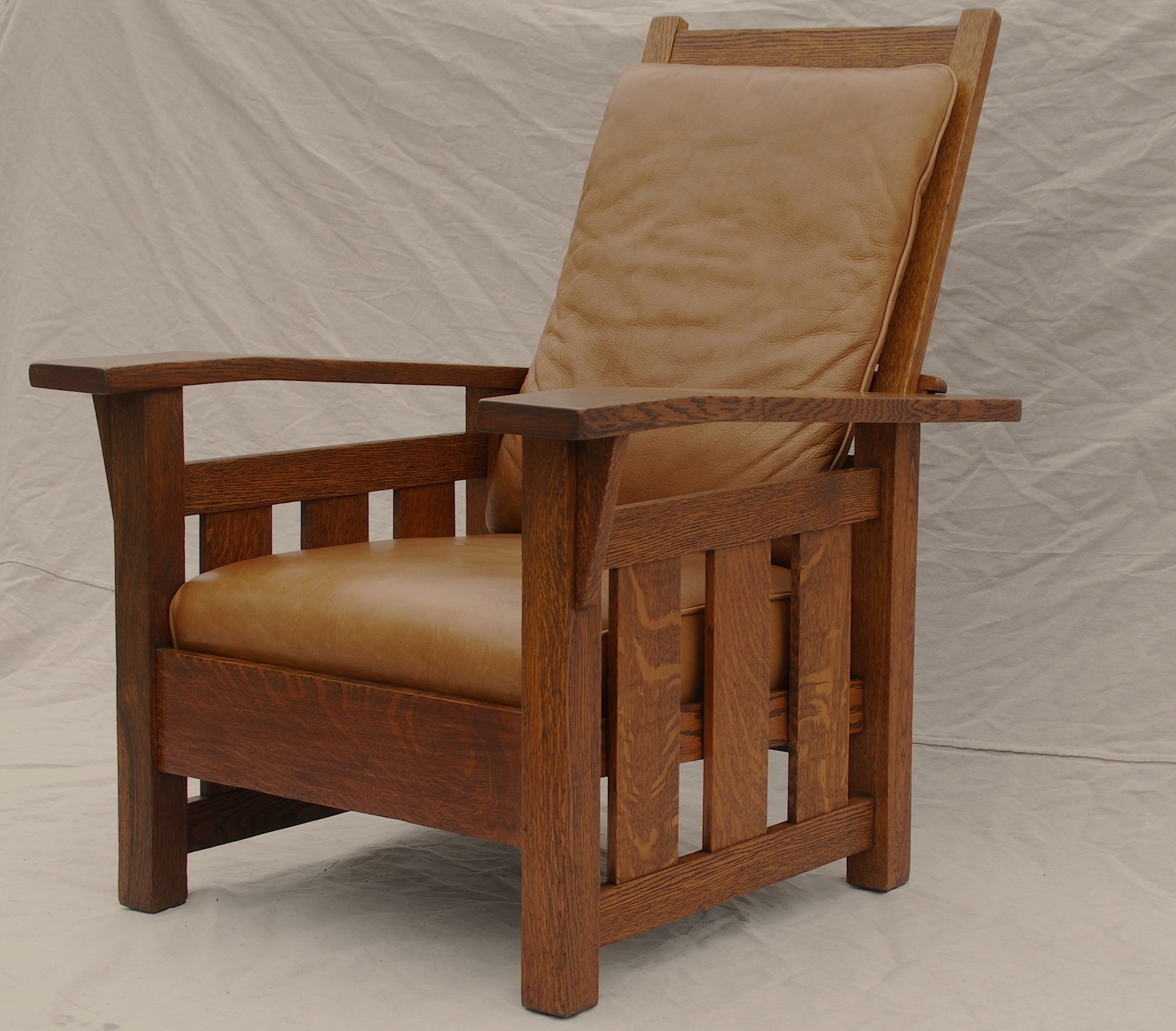 Current Voorhees Craftsman Mission Oak Furniture – Stickley Era Quaint Art In Craftsman Arm Chairs (View 12 of 20)