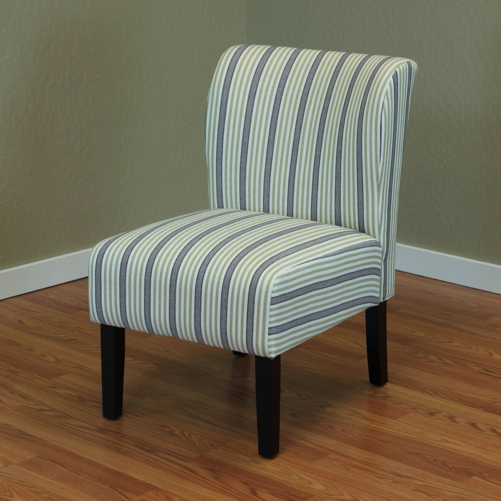 Diana Stripe Upholstered Side Chair (View 11 of 20)