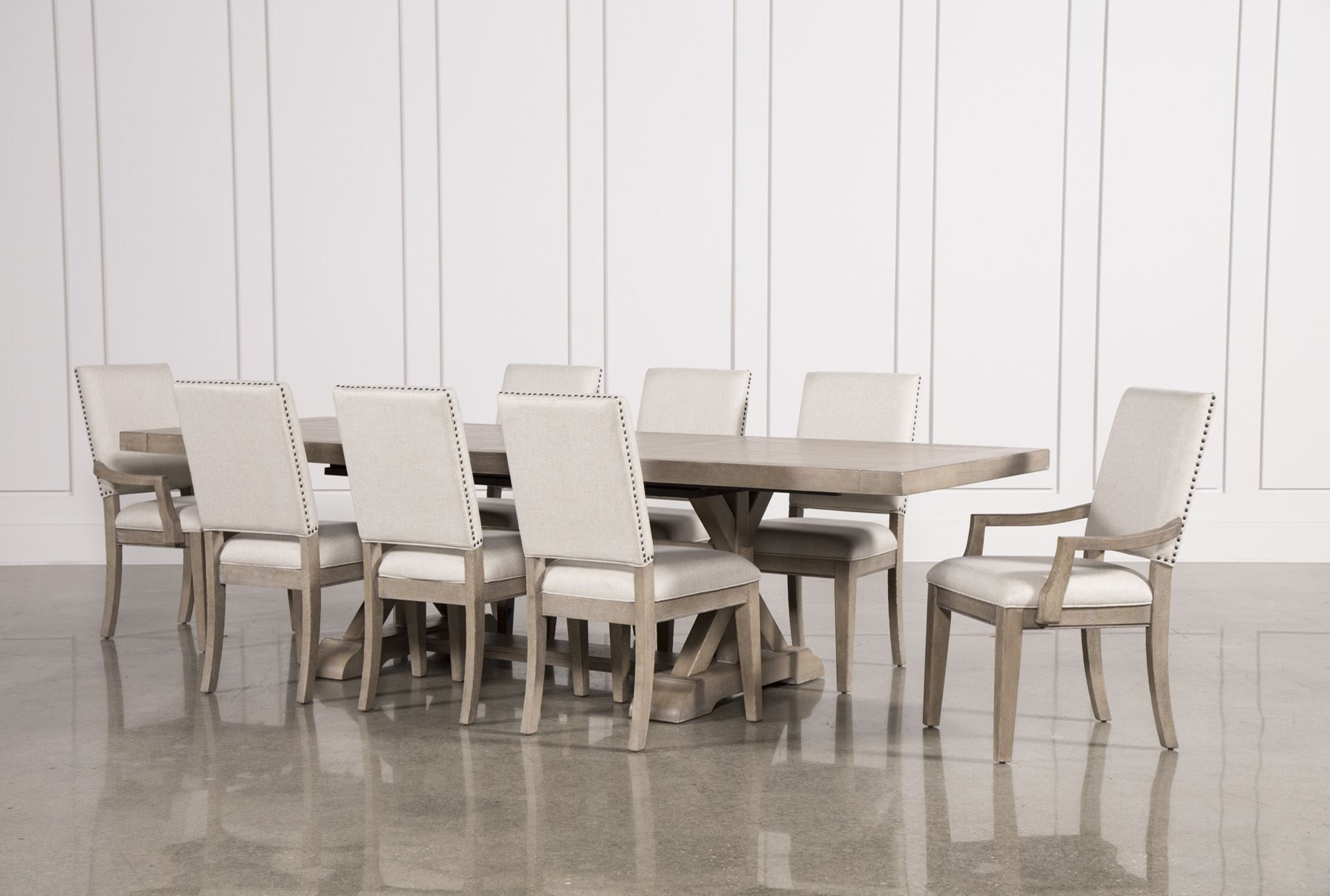 Dining, Dining Sets And Living Within Caira Black Upholstered Diamond Back Side Chairs (View 8 of 20)