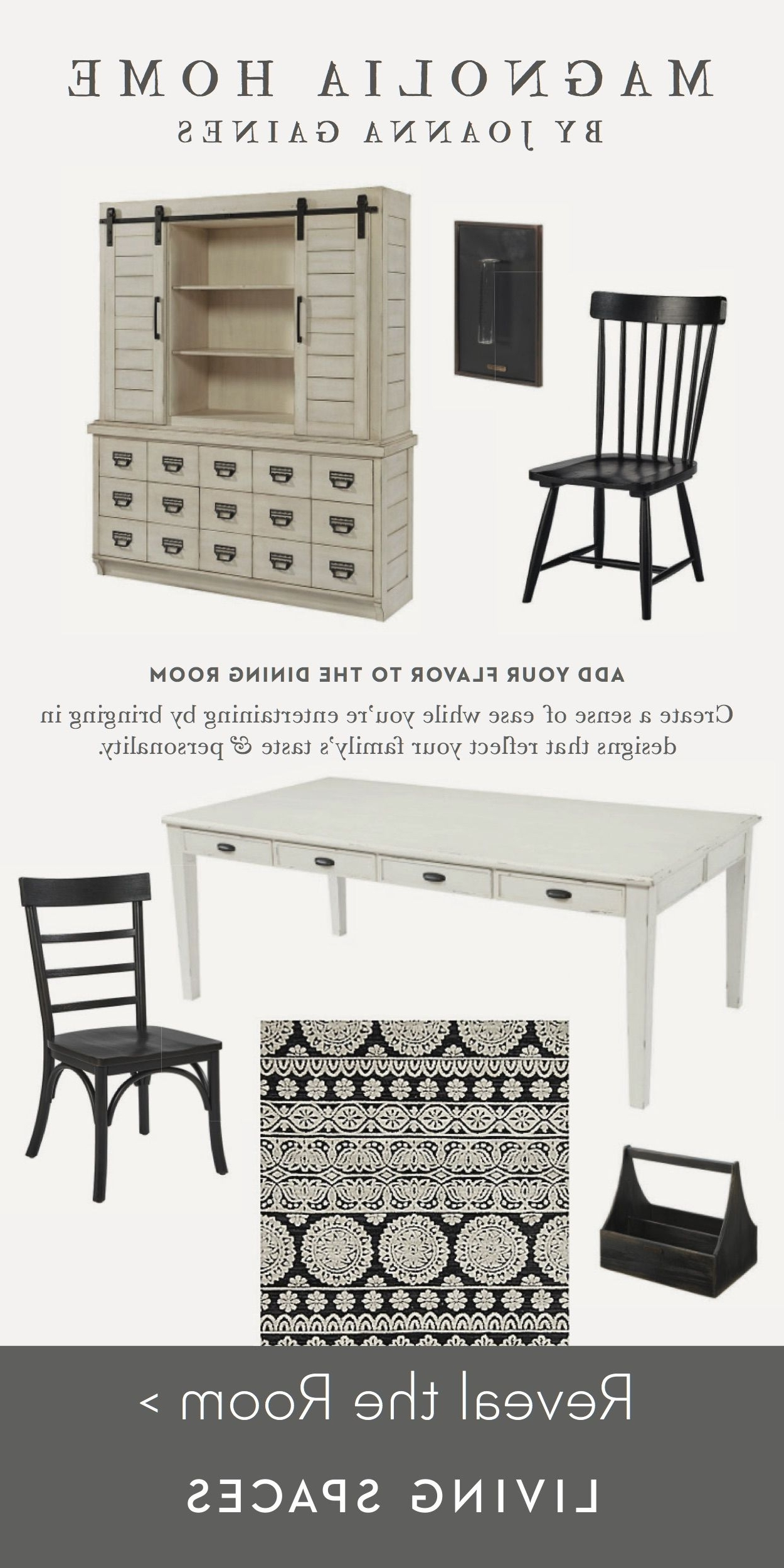Dining Room Inspiration. The Antique Pertaining To Magnolia Home Spindle Back Side Chairs (Gallery 13 of 20)