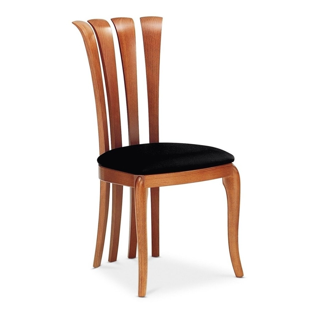 Dom Side Chairs In Famous Sirio Side Set Dining Chair Light Cherry Kimera Black (Gallery 12 of 20)
