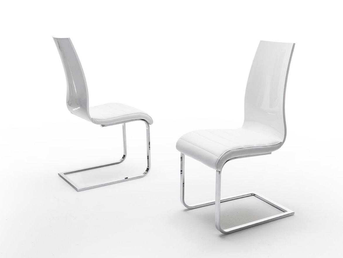 Esf Furniture Valencia Chair In White (Set Of 2)Dining Rooms Outlet Intended For Most Recently Released Valencia Side Chairs (View 6 of 20)