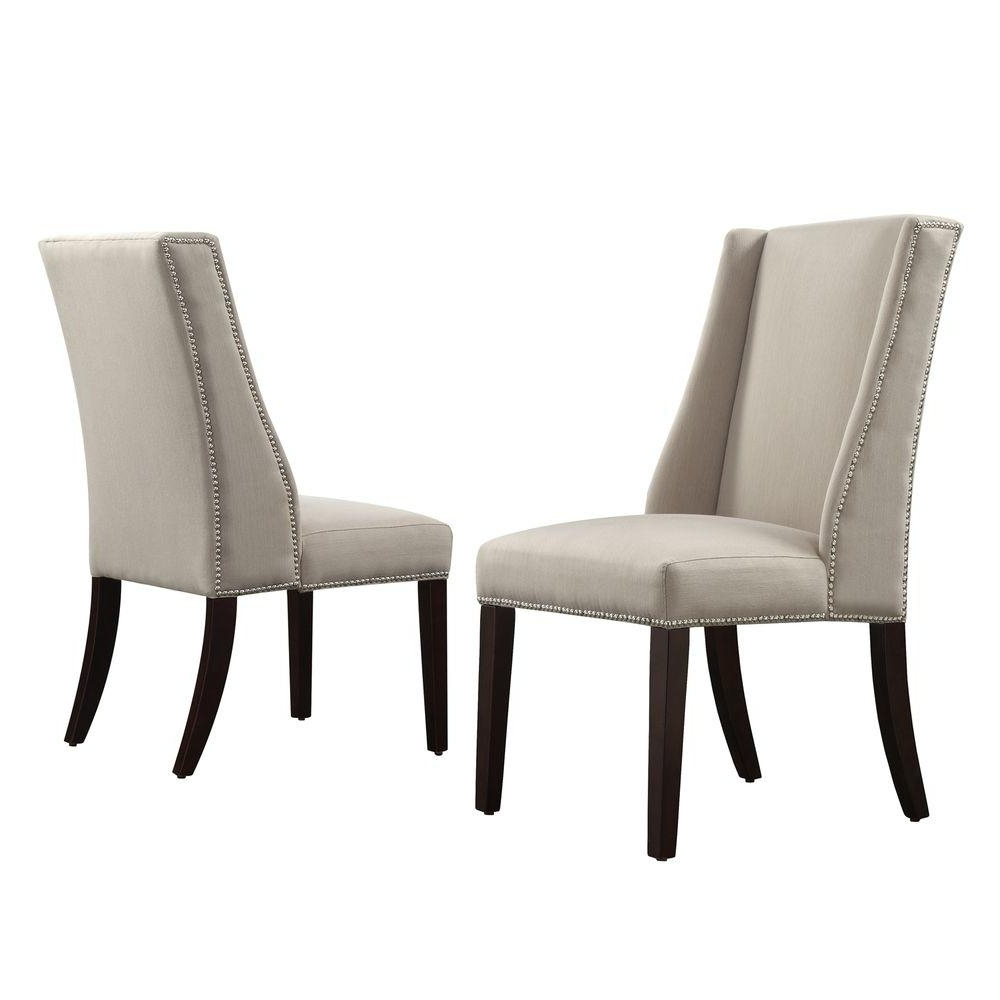 Famous Armless Oatmeal Dining Chairs In Homesullivan – Dining Chairs – Kitchen & Dining Room Furniture – The (View 9 of 20)
