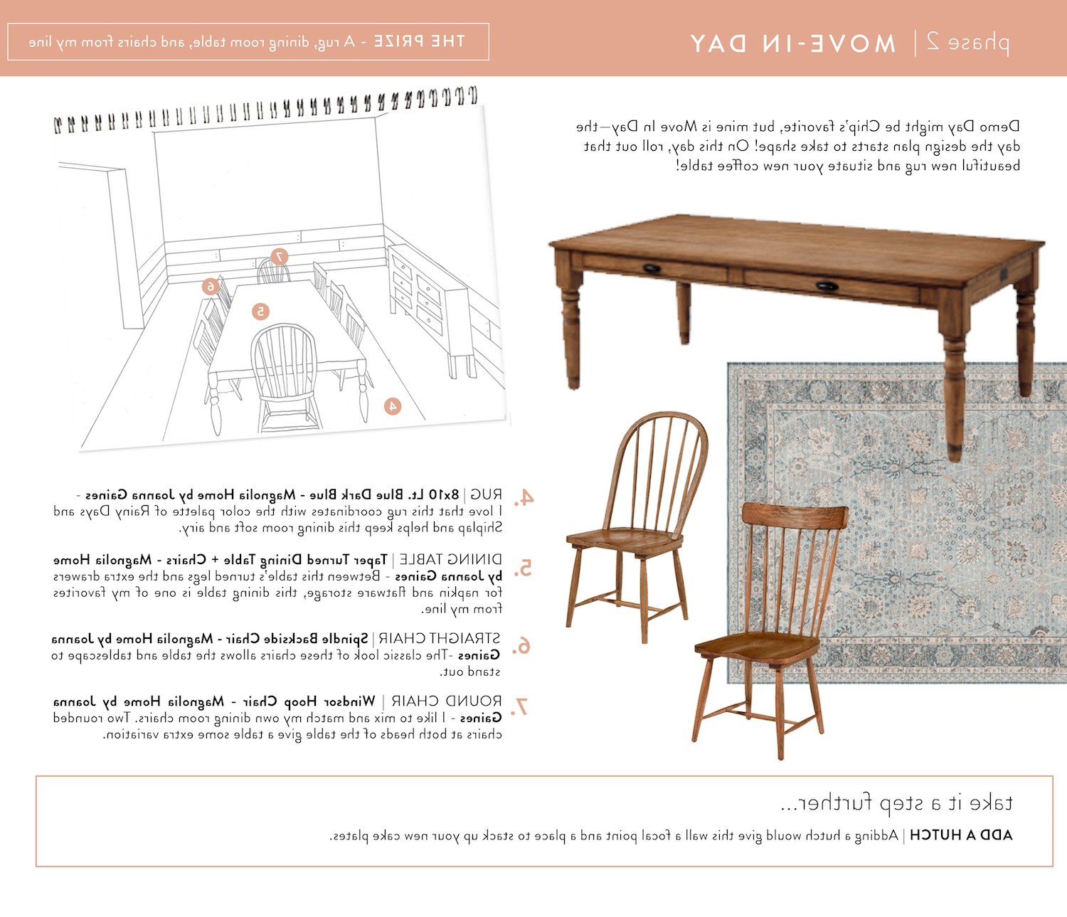Famous Magnolia Home Spindle Back Side Chairs With Regard To Move In Sheet August (View 18 of 20)
