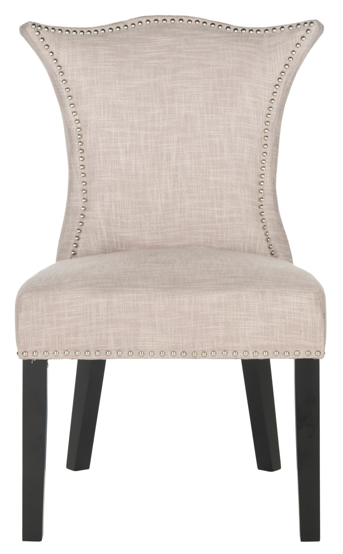 Famous Mcr4717a Set2 Dining Chairs – Furnituresafavieh For Caira Black Upholstered Side Chairs (View 8 of 20)