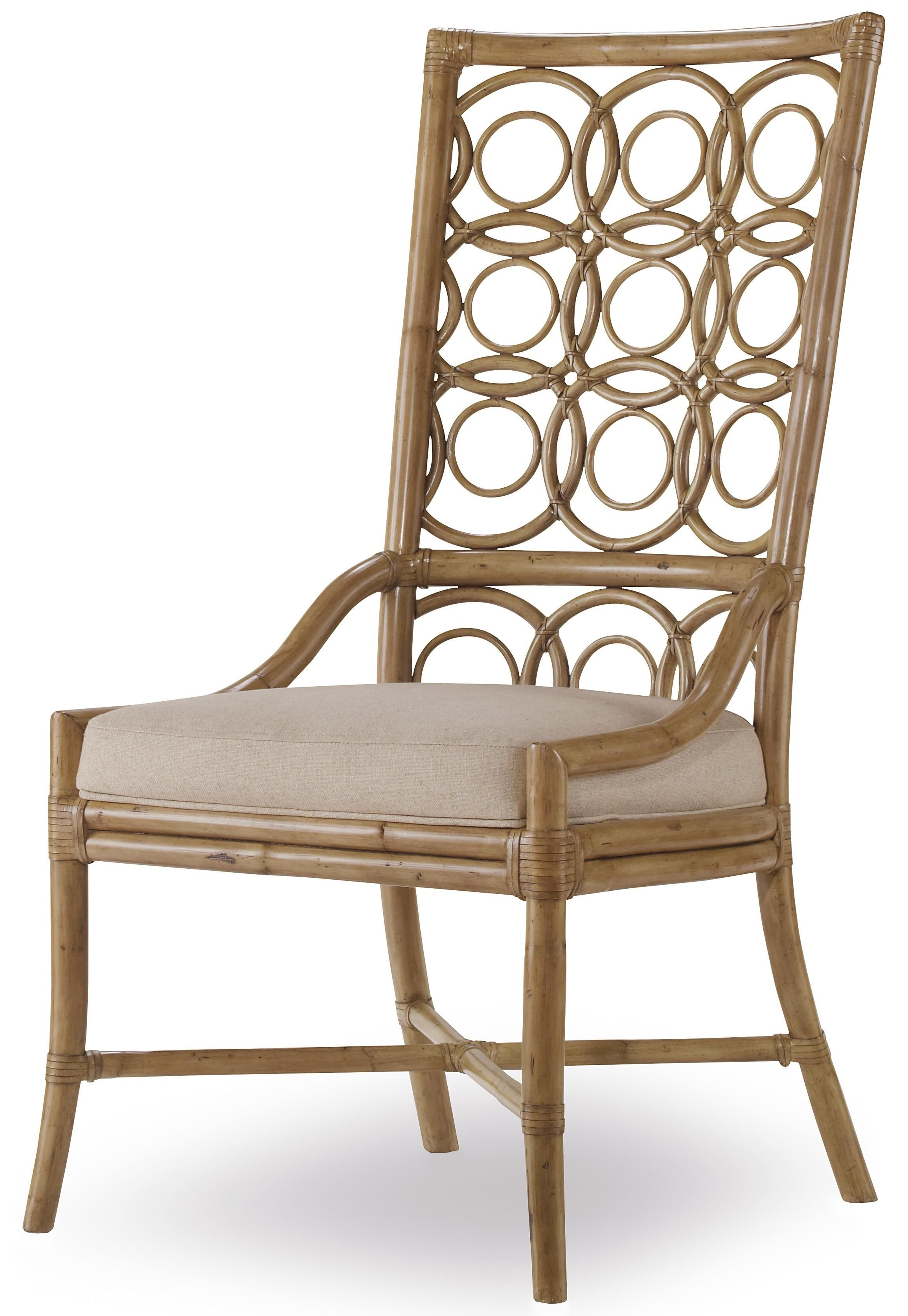 Famous Sanctuary Rattan Side Chairhooker Furniture Available At Stc Within Magnolia Home Entwine Rattan Arm Chairs (View 2 of 20)