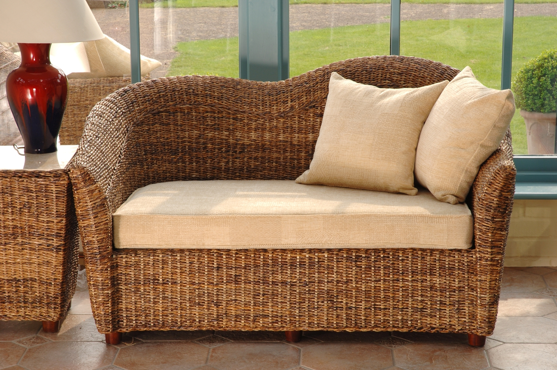 Fashionable Cane Conservatory Furniture (View 11 of 20)