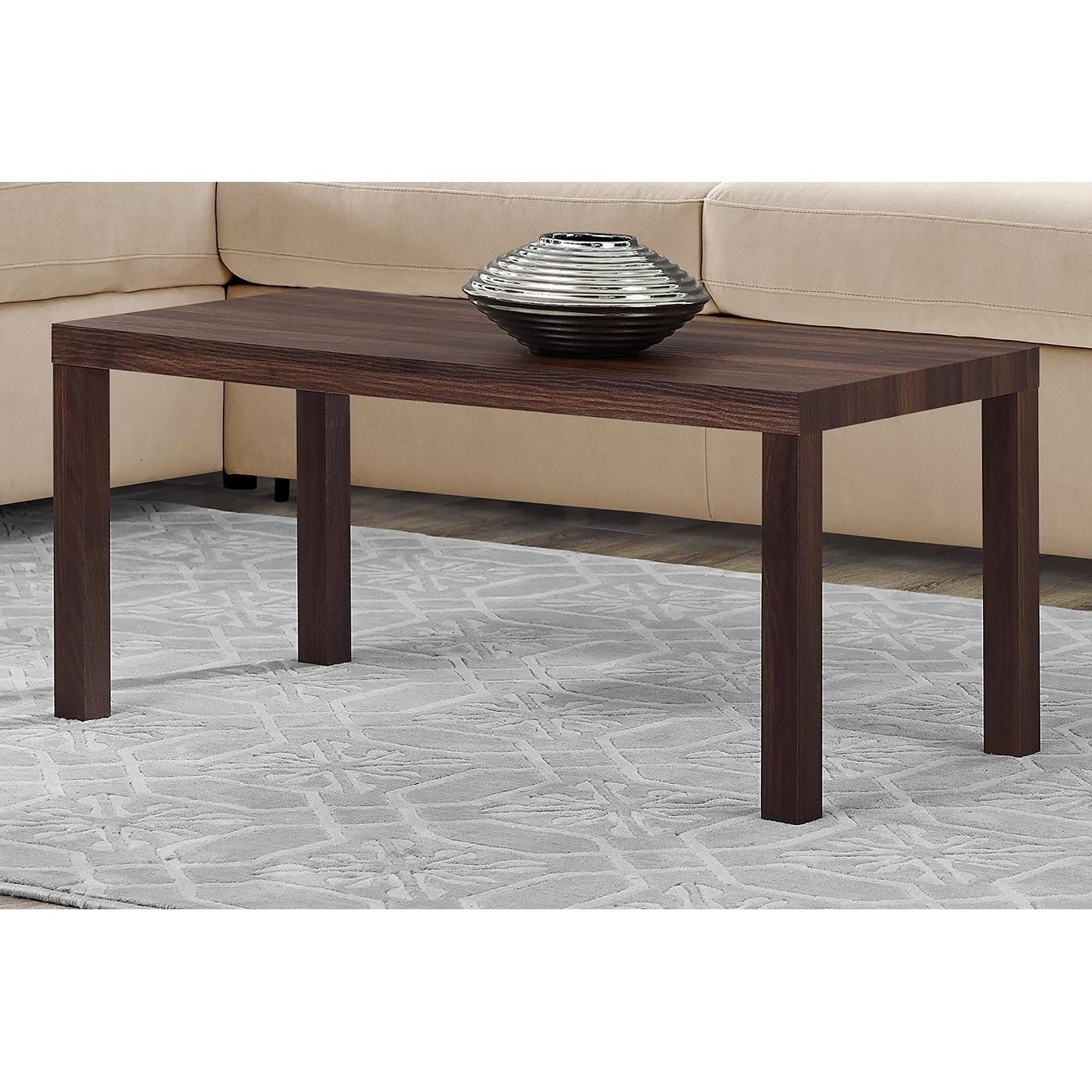 Fashionable Jaxon Grey Wood Side Chairs With Regard To Shop Avenue Greene Jaxon Walnut Coffee Table – Free Shipping Today (View 5 of 20)