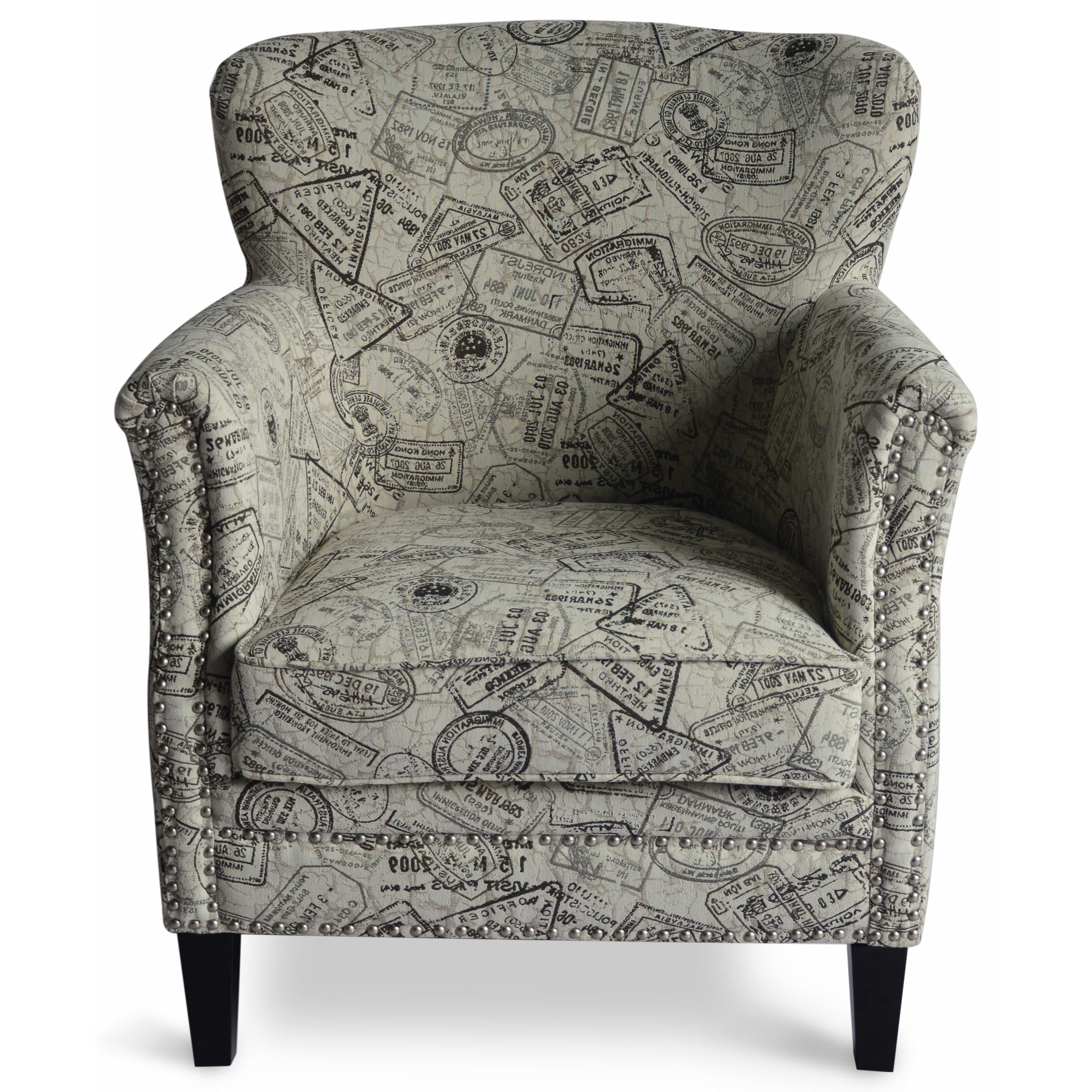 Fashionable Jofran Easy Living Globetrotter Accent Chair (View 5 of 20)
