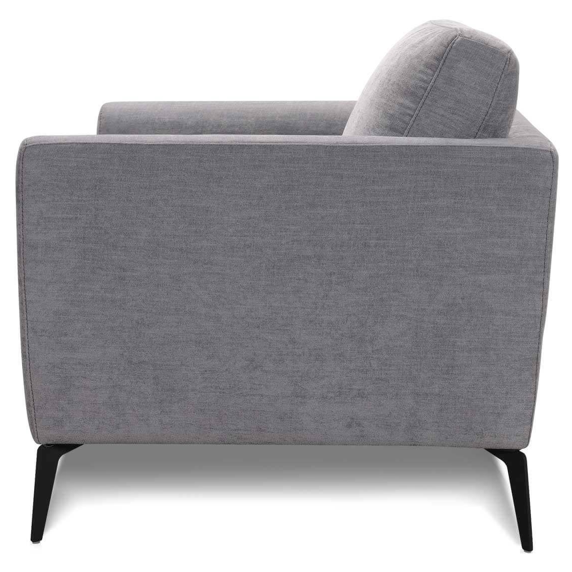 Fashionable Pewter Attica Armchair (View 11 of 20)