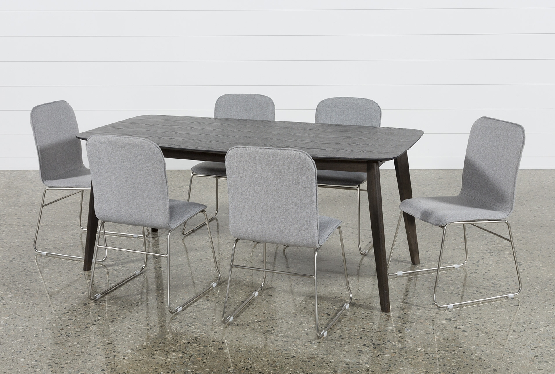 Fashionable Swift 7 Piece Rectangular Dining Set With Zoey Side Chairs (View 3 of 20)