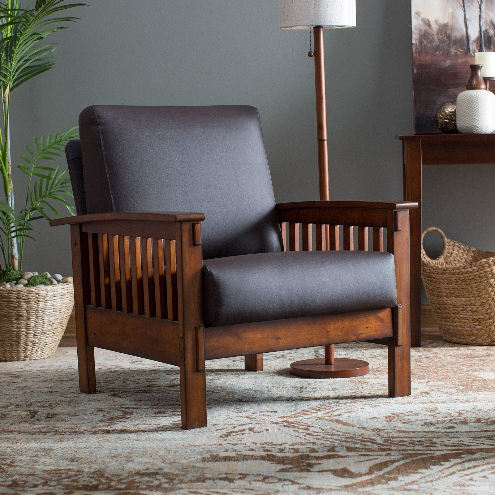 Favorite Belham Living Burton Mission Arm Chair – With Its Slatted Sides And In Craftsman Arm Chairs (View 17 of 20)