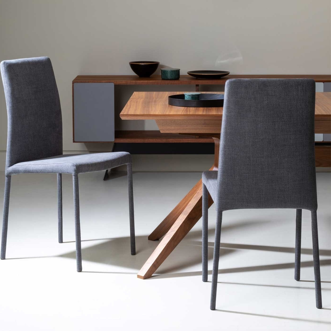 Favorite Bronte Pair Of Dining Chairs Regarding Moda Blue Side Chairs (View 5 of 20)