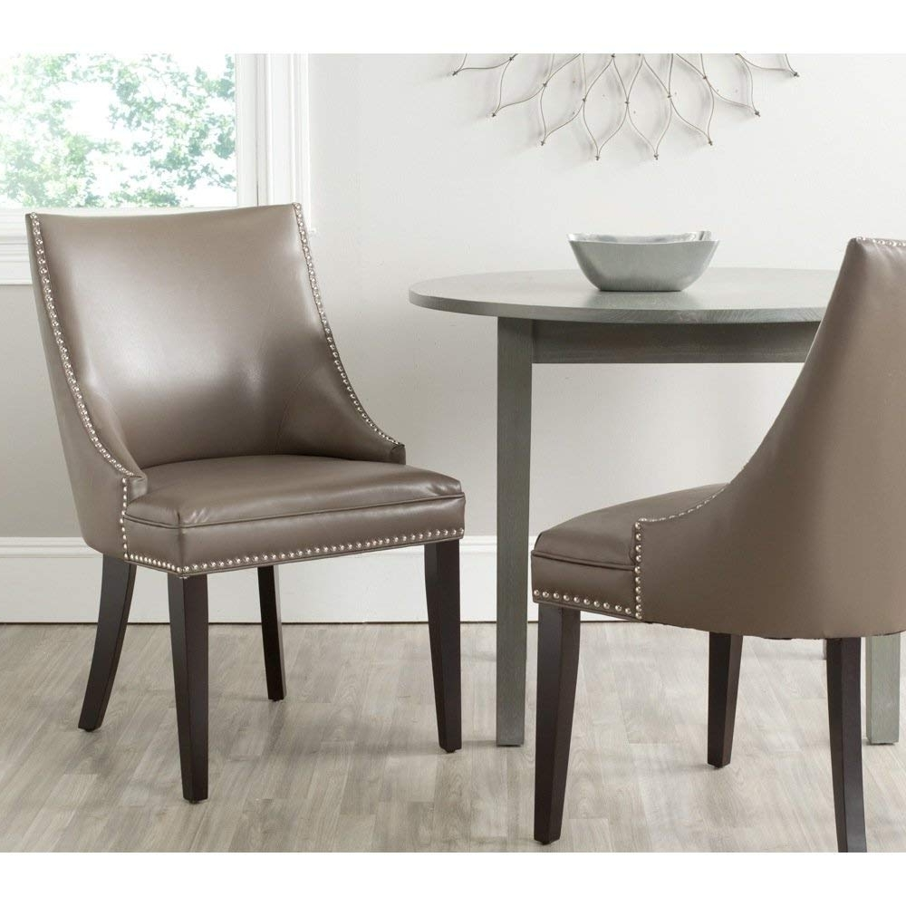 Favorite Clay Side Chairs With Regard To Amazon – Safavieh Mercer Collection Afton Side Chair, Clay, Set (View 8 of 20)