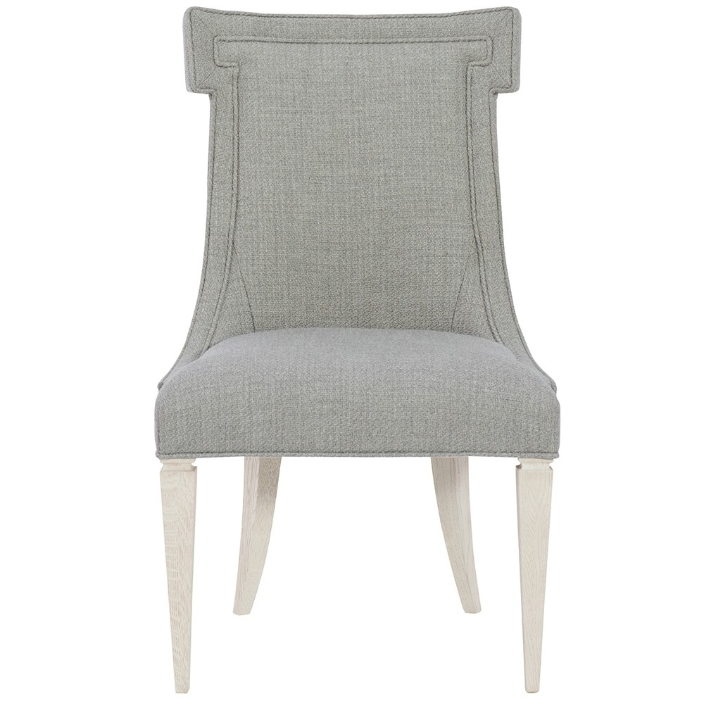 Favorite Domaine Blanc Upholstered Side Chair (Each) In Dove White (View 7 of 20)