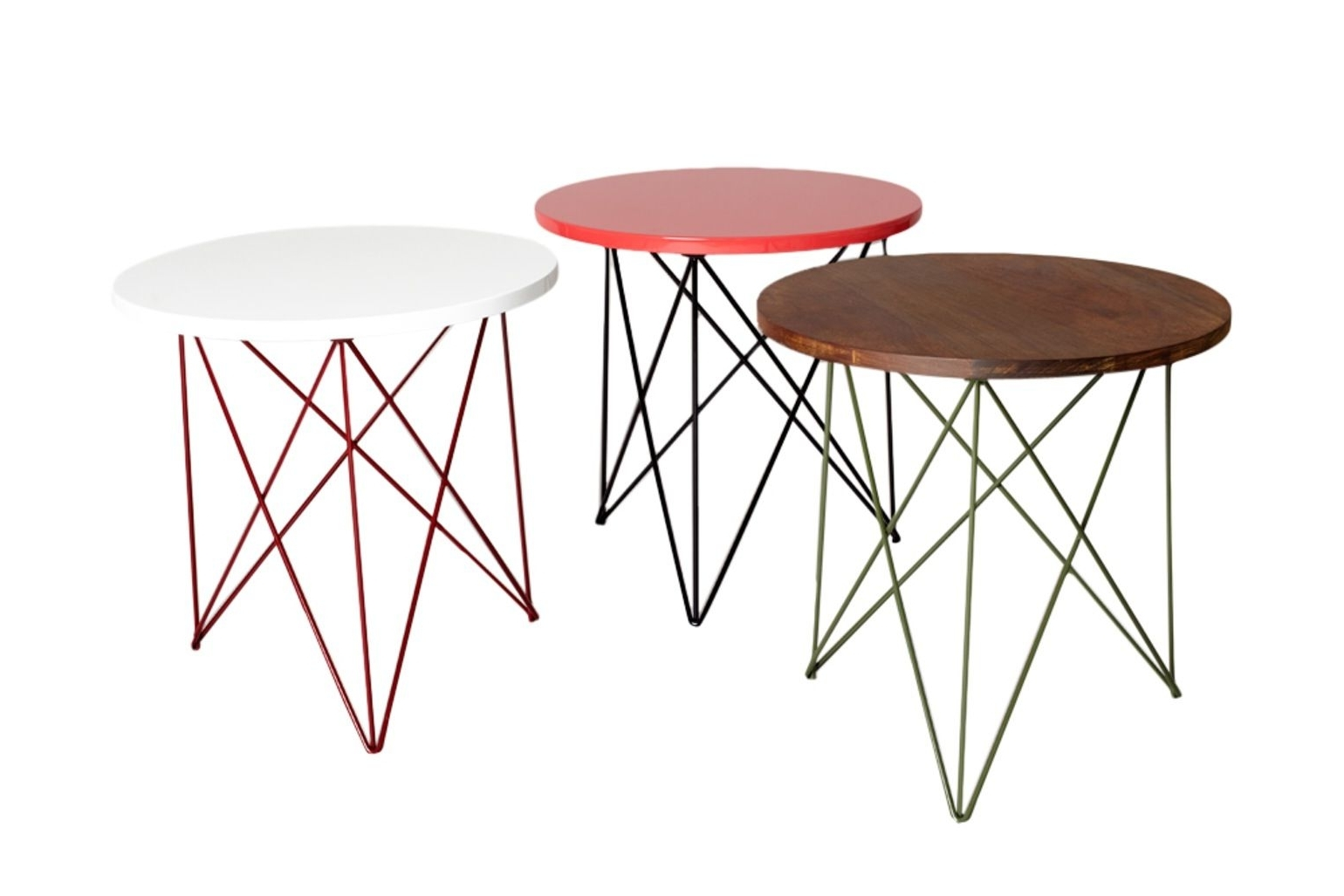 Favorite Helms Side Table Contemporary, Midcentury Modern, Lacquer, Metal Throughout Helms Side Chairs (View 3 of 20)