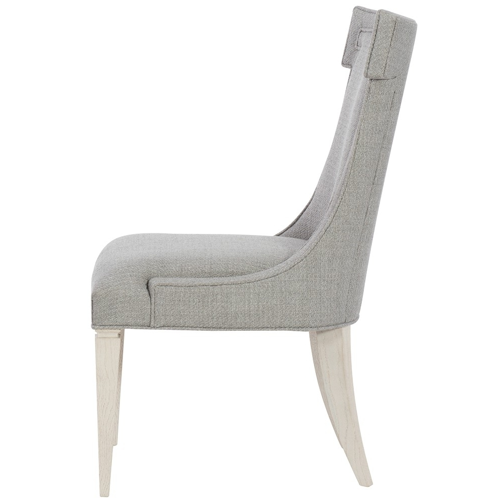 Favorite Lindy Dove Grey Side Chairs Intended For Domaine Blanc Upholstered Side Chair (each) In Dove White (View 12 of 20)