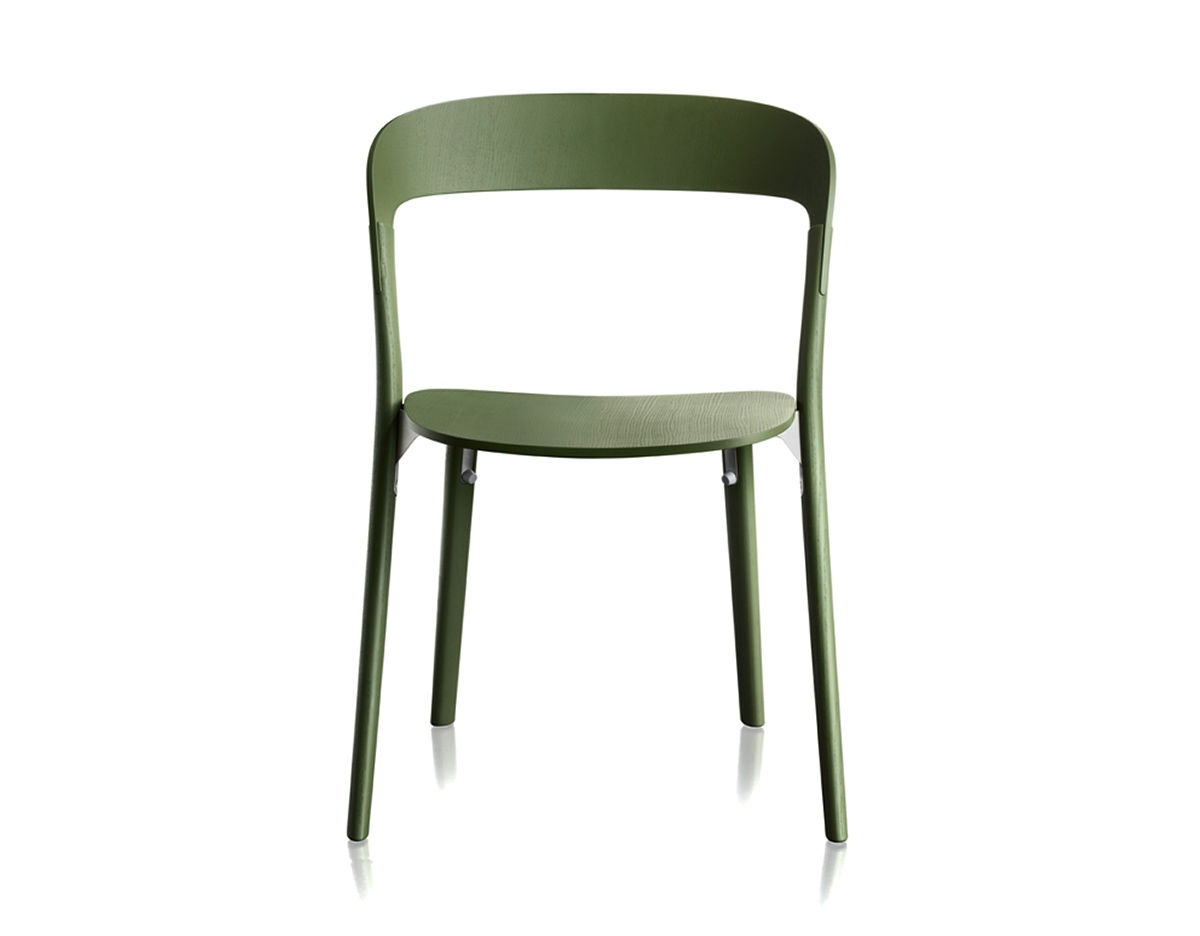 Favorite Pilo Grey Side Chairs Intended For Magis Pila Chair Two Pack – Hivemodern (View 11 of 20)