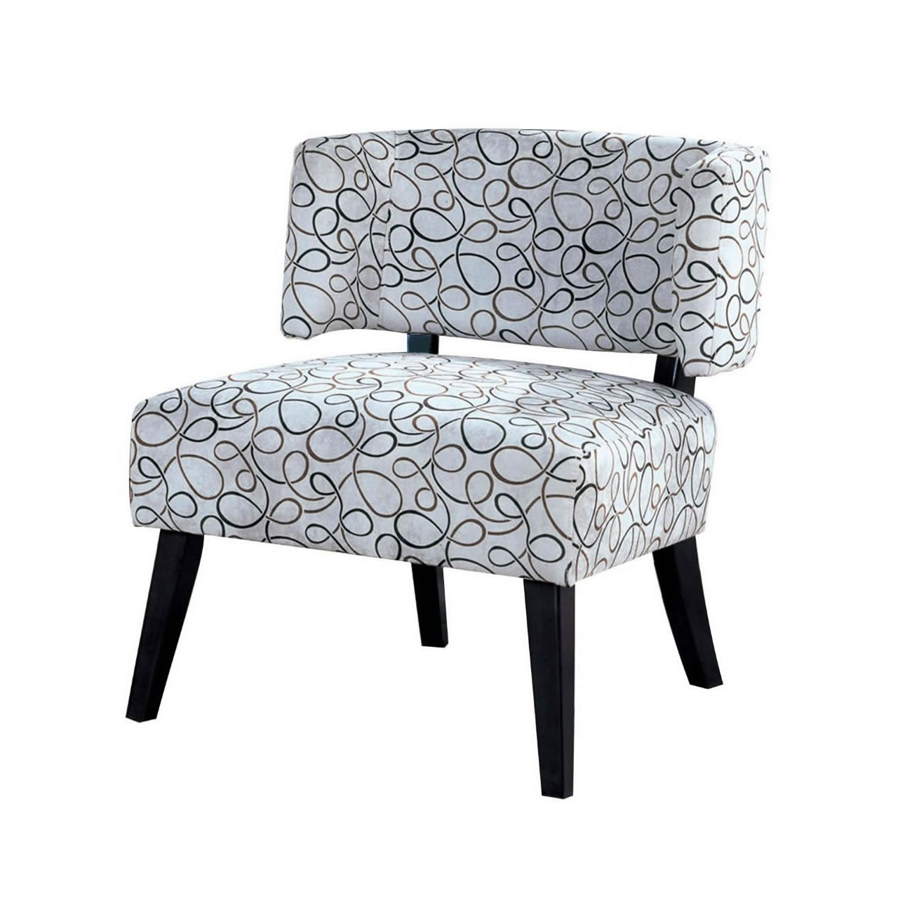 Features: Transitional Styling Curved Back And Full Size Seat Throughout Widely Used Pilo Grey Side Chairs (View 13 of 20)