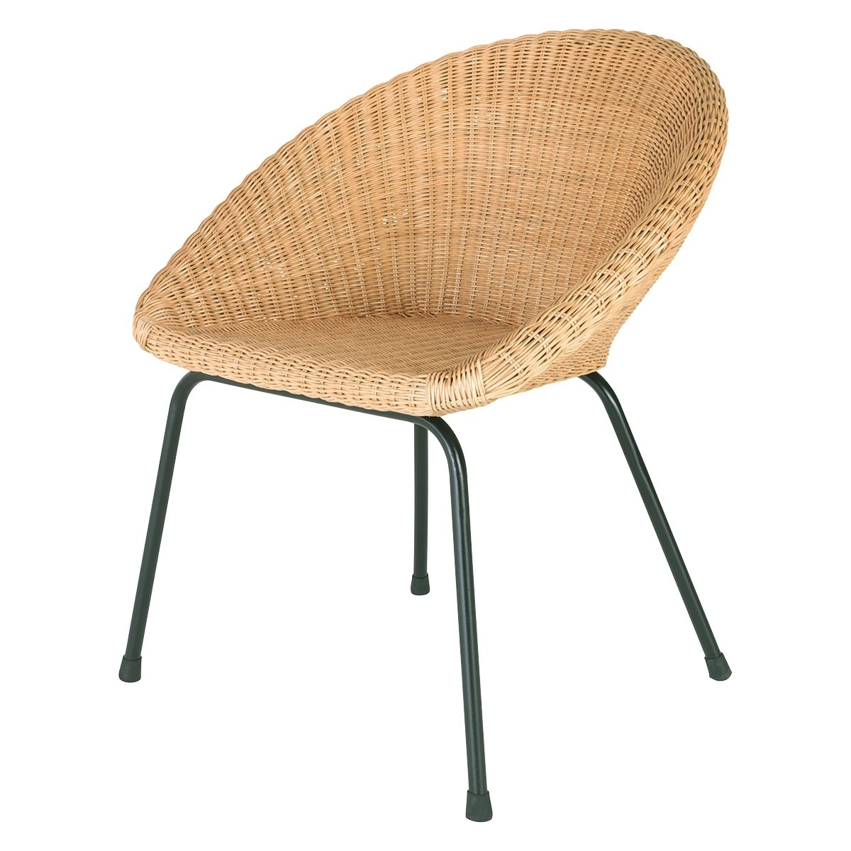 Feliz Natural Rattan Dining Chair With Metal Legs (View 7 of 20)